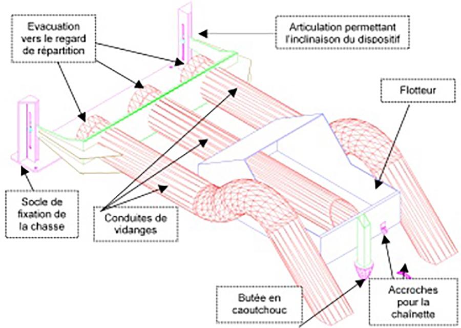 Image représentant un modèle de chasse de 1er étage ALISTEP