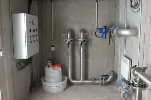 Chloration tuyauterie Bersac