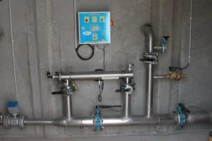 Chloration + tuyauterie Bersac
