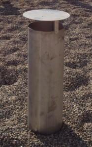 cheminée de ventilation, chapeau de ventilation